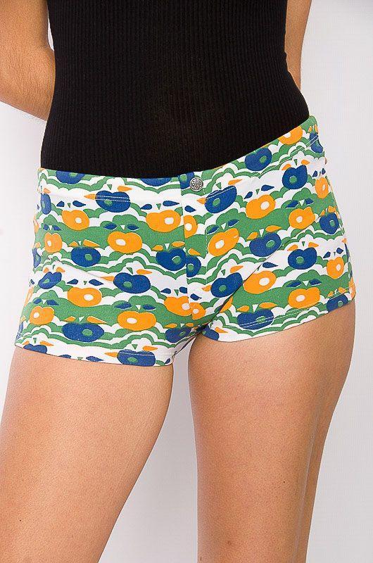 80c89cfa5a0d7 Swimsuit / Vintage Short 60s - 70s Apples Size XS - Bichovintage - Online  vintage and retro clothing store