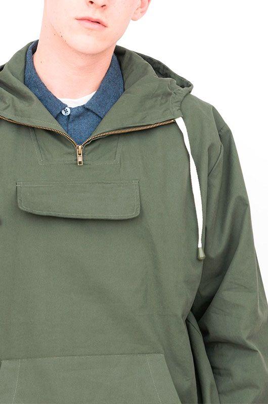 mitad de descuento 5ca2b 6af42 Cazadora Canguro Outdoor Verde Oliva - Bichovintage - Tienda online de ropa  vintage y retro