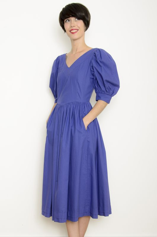 a0d3a29c7c9 Vintage 80s Laura Ashley Dress Size S-M - Bichovintage - Online vintage and retro  clothing store