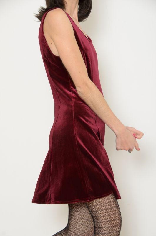 Vestido terciopelo vintage - Chicfy