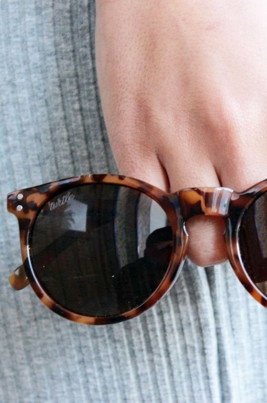 Gafas de sol Wild Turtle Carey Brown - 1