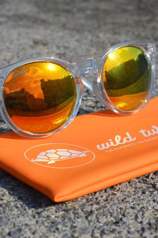 Gafas de sol Wild Turtle Clear Yellow