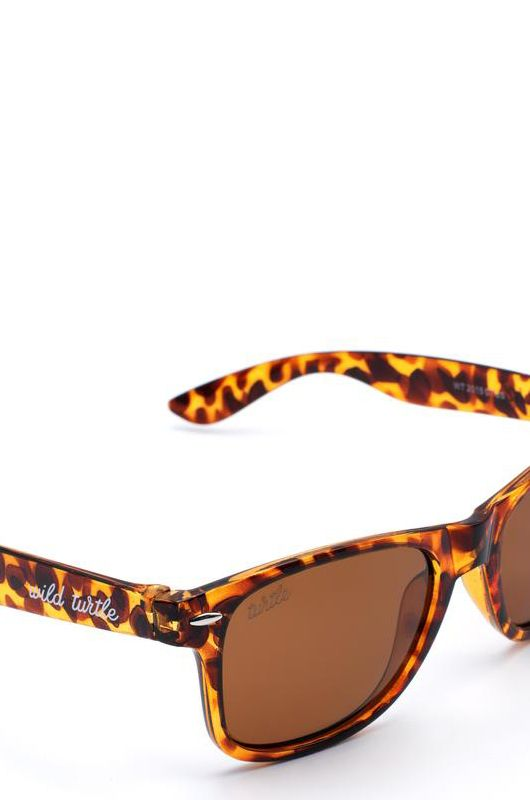 Gafas de sol Wild Turtle Carey Brown Classic - 3