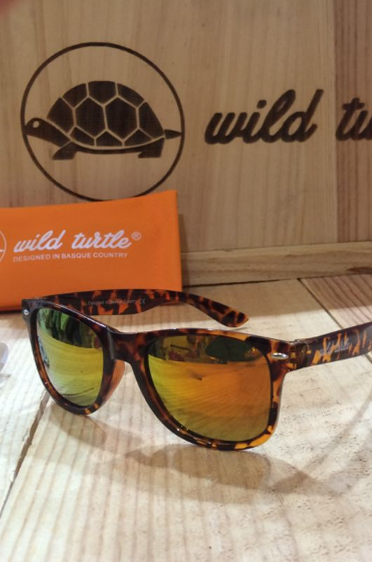 Gafas de sol Wild Turtle Carey Red Classic