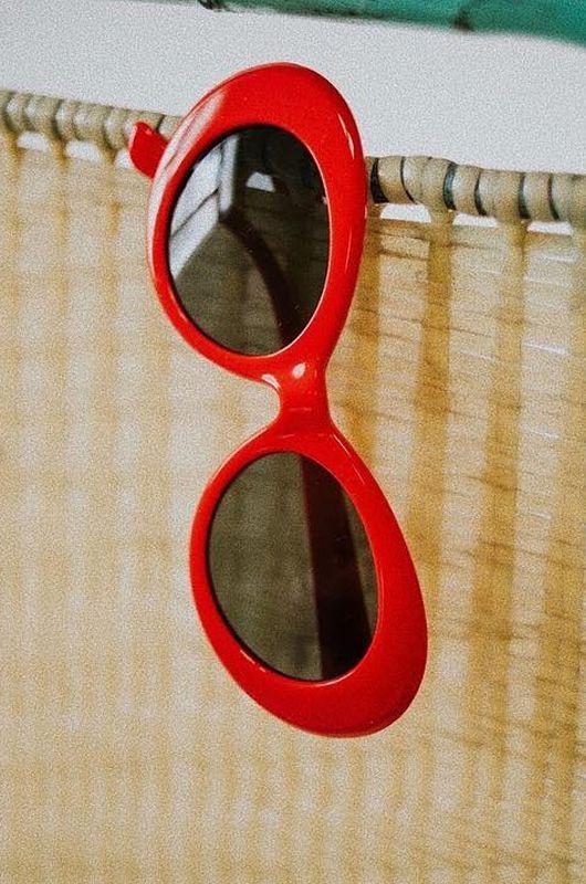 Gafas de sol Vintkova Marilyn in Red