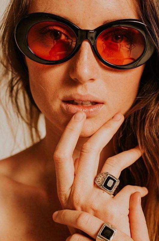 Gafas de sol Vintkova Marilyn in Black