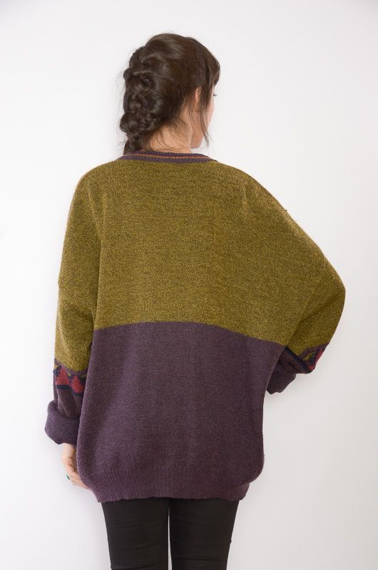 Cardigan Vintage 80s Rodeo Oversize - 5