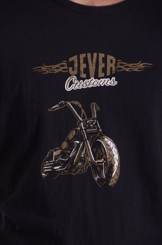 Camiseta Vintage 90-00s Jever Customs Talla M - 2