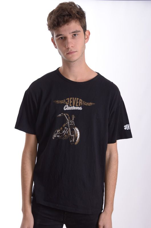 Camiseta Vintage 90-00s Jever Customs Talla M - 3