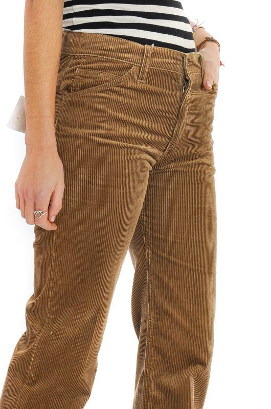 Vintage Levis Light Brown Straight Pants Size M - 3