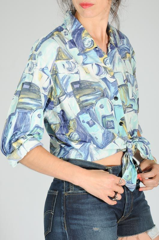 Camisa Vintage Xo Collections Ice Talla Única - 3