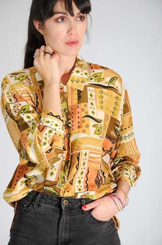 Xo Collections Maruxa Shirt Size L - 3