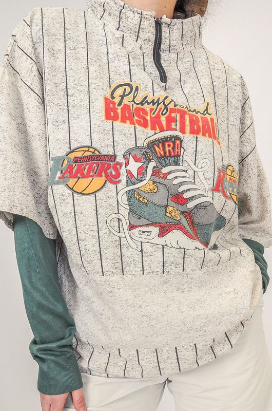Camiseta Vintage Playground Basketball Talla L - XL - 7