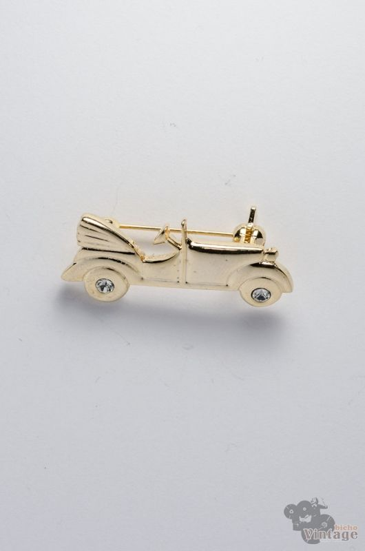 Broche Mini Vintage 80s Coche Antiguo - 1