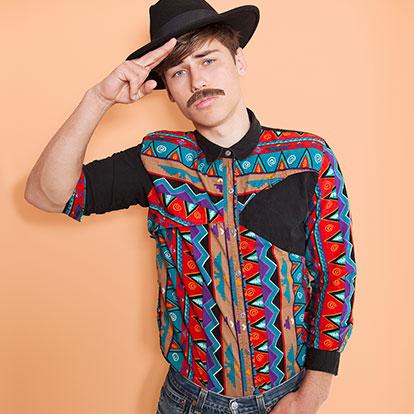 Camisas Vintage Hombre